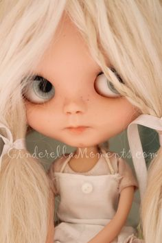 Baking With Brinlie Customized Neo Blythe by cinderellamoments  SOLD
