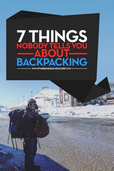 Backpacking lifestyle tips! Click here for everything you need to know about backpacking.