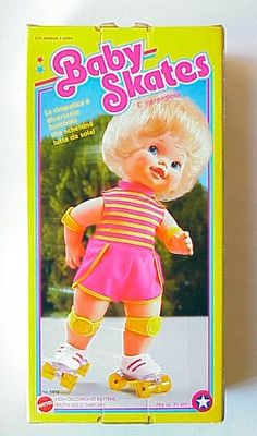 The VERY first babydoll I remember getting for Christmas at a VERY young age.  -km