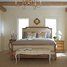 Have to have it. Stanley Furniture Arrondissement Palais Upholstered Panel Bed - $2078 @hayneedle