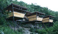 EcoFriendly homes - V-Houses, Yelapa, Mexico