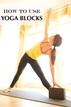 DownDog Yoga Poses for Fun & Fitness: How to Use Yoga Blocks. From the Downdog Diary Yoga Blog found exclusively at DownDog Boutique