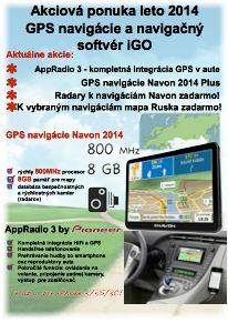 Akciový leták leto 2014 - iGO, NAVON