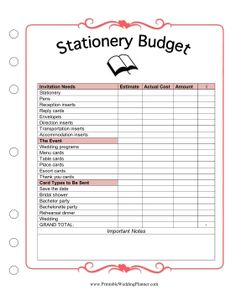 Stationery might not seem like the biggest expense when planning a wedding, but… Wedding Planner Guide, Wedding Planning Binder, Wedding Binder, Event Planning Business, Wedding Book, Wedding Planners, Free Wedding, Budget Wedding, Trip Planning