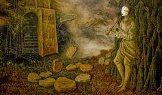 Remedios Varo Uranga (1908~1963, Spanish-Catalan born Mexican para-surrealist painter and anarchist)