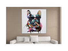 Obraz Pop Art Big Boss Hund duży — Obrazy Invicta Interior — sfmeble.pl