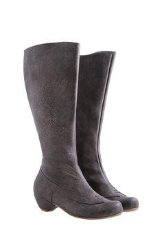 ae076c047 Handmade gray leather boots gray women hand made by ADIKILAV