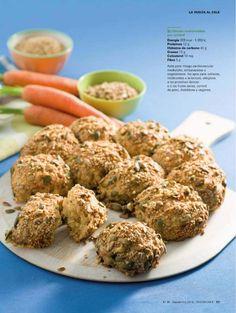 Panecillos de semillas y verduras (Thermomix)