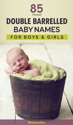 Double-barrelled or hyphenated baby names serve the dual purpose of preserving family name and inheriting two surnames. Choose a trendy name for your baby. #baby #names #babynames