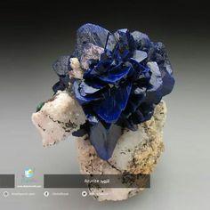 25 unbelievably beautiful rocks and minerals. Cool Rocks, Beautiful Rocks, Most Beautiful, Beautiful Things, Azurite Malachite, Mineral Stone, Belleza Natural, Diamond Gemstone, Rocks And Minerals