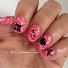 pullstrings1 hello kitty  #nail #nails #nailart