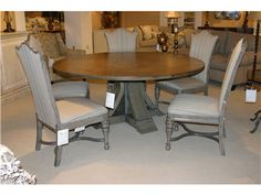 Dining Tables On Pinterest Round Dining Tables Dining Tables And Parsons Chairs
