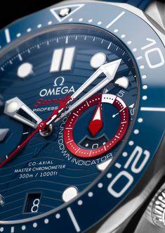 Omega Speedmaster Racing, Omega Seamaster Diver 300m, Retro Vintage, Planet Ocean, Watch Blog, Bezel Ring, Water Activities, Watch Model, White Enamel