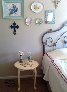 Upcycled Paris Table by Carmen Whitehead Designs for Bella Crafts Publishing
