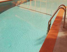 Mid Century Swimming Pool Photograph by Lucy Snowe Summer Surf, Summer Dream, Rei Ryugazaki, Rin Matsuoka, Mood And Tone, Cool Pools, Pool Landscaping, Minimal Design, Creative Design