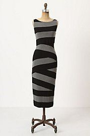 "Anthropologie calls this a ""column dress"" Hmm . . . is it made of spanx? Cuz that might work."