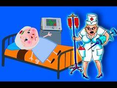 """✔Пеппа Мультфильм Пепу """"СРОЧНО"""" увезли в больницу!!! Свинка мультик на р..."""