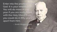 Smith Wigglesworth on Holy Spirit Productivity