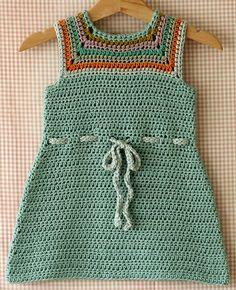Mina Baby and Toddler Dress Crochet Pattern