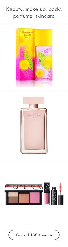 """Beauty, make up, body, perfume, skincare"" by riell-projecthome ❤ liked on Polyvore featuring beauty products, fragrance, green tea fragrance, parfum fragrance, elizabeth arden, elizabeth arden perfume, elizabeth arden fragrance, parfum, beauty and pink"