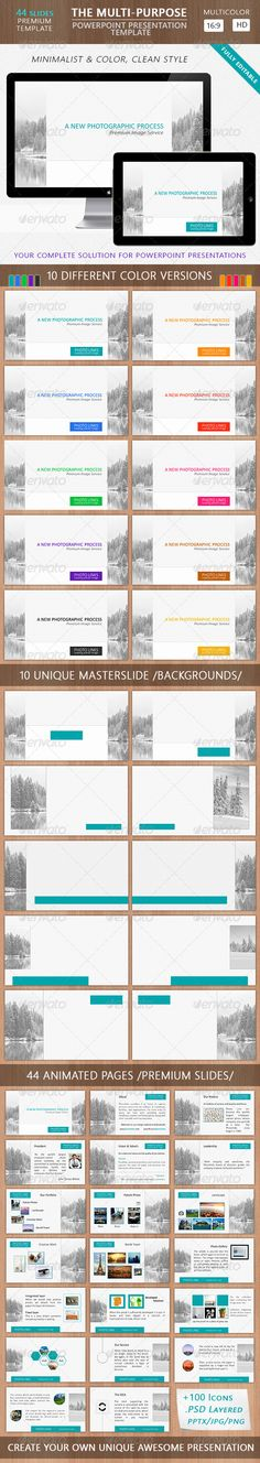 The Multi-Purpose Powerpoint Presentation Template