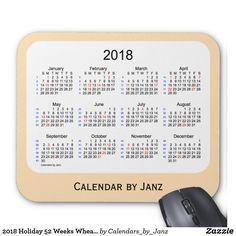 Spring Green Holiday Calendar by Janz Placemat - event gifts diy cyo events 2018 Holiday Calendar, Create Your Own Poster, Custom Calendar, January February March April, Calendar Design, Art Calendar, Holidays 2017, Happy Holidays, Spring Green