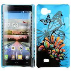 Valentine (Abstrakt - Blå Himmel) LG Optimus 4X HD Deksel
