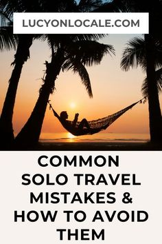 In my decade of solo travel, I've learned how to avoid these all-too-common solo travel mistakes. #travel #travelblog #blog #blogger #travelblogger #destination #trip #solotravel #solotraveler #solofemaletravel #solofemaletraveler #solotraveladvice #solofemaletraveladvice #femaletravel #femaletraveler #travelsolo #solotravelmistakes #solotraveladvice #solofemaletraveladvice Solo Travel Tips, Packing Tips For Travel, Travel Advice, Travel Hacks, Travel Essentials, Travel Ideas, Travel Flights, Virtual Travel, Best Places To Travel