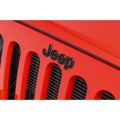 Mopar Jeep Badge for 07-18 Jeep Wrangler JK for 07-18 Jeep Wrangler JK   Quadratec