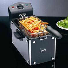 Deni 9360 3 Quart Glass Deep Fryer