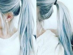 Just when we thought we'd seen every hair color trend under the sun, we logged onto Instagram and set our eyeballs on denim hair. And guys, it'sseriously gorgeous.    A photo posted by #MODERNSALON (@modernsalon) on Dec 27, 2015 at 7:38pm PST        A photo posted by Neat Nation (@neatnation) on Feb 18, 2016 at 12:31am PST     In the same way that jeans comes in so many different washes, we found denim hair in a variety of lovely shades of blue.    A photo posted by Iris-Owner|Stylist…