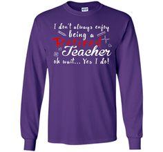 I Don't Always Enjoy Being Retired Teacher T-Shirt