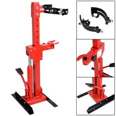 1 Ton 2200 LBS Auto Strut Coil Spring Compressor Air Hydraulic Tool Cars Truck