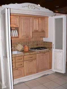 The Kitchen In The Closet