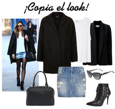 Miranda Kerr combina sus básicos para crear un look perfecto. #celebrities #moda
