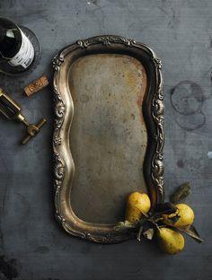 Lovely silver tray