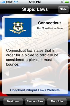 Weird connecticut laws