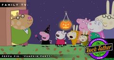 "31 Days of Halloween: PEPPA PIG ""Pumpkin Party"" + Free Printables via @therockfather"
