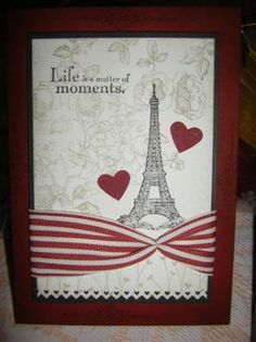 Travel card: Life is a matter of moments