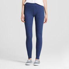 Women's Ribbed Legging Navy (Blue) Heather Xxl - Mossimo Supply Co. (Juniors')