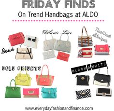 Friday Finds: On Trend Handbags at ALDO