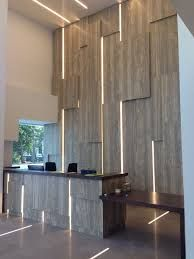 Image result for double height office wall designs