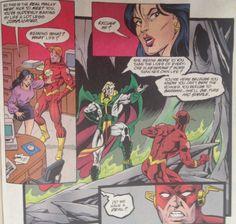 Flash # 128 | Written by Mark Waid and Brian Augustyn, pencils by Paul Ryan