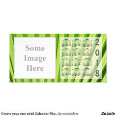 Create Your Own  Calendar Photo Card  Create Your Own