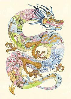 Daniel Mackie - Three-Clawed Dragon