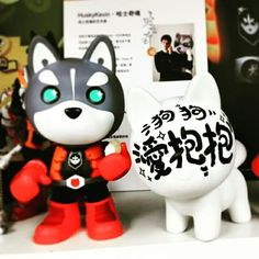 My work is simple...but meaningful. #husky #toy #enbrace #love #artist #care