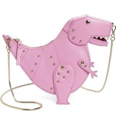 Kate-Spade-New-York-Whimsies-T-Rex-Leather-Crossbody-Teatime-Pink-Dinosaur-Bag