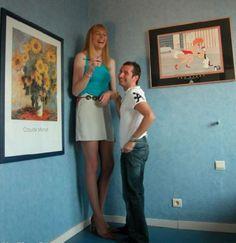 Frau kleine großer mann Als kleiner