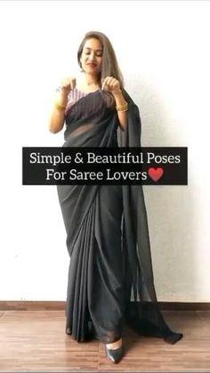 Teen Photography Poses, Indian Wedding Photography Poses, Girl Photo Poses, Girl Poses, Fashion Poses, Fashion Outfits, Saree Wearing Styles, Stylish Photo Pose, Saree Poses