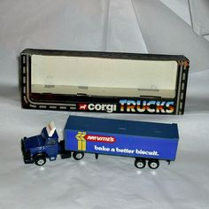 McVitie's Biscuit Diecast Vehicle Corgi Model by WelshGoatVintage - SOLD OUT